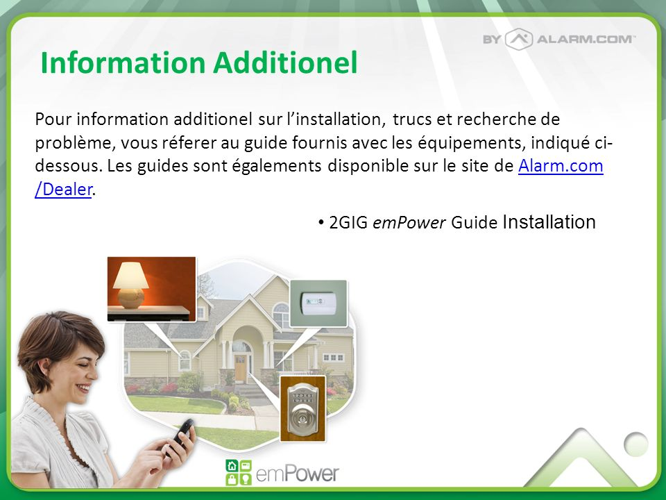 Information Additionel