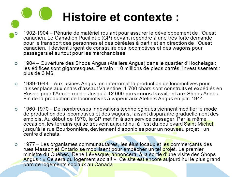 Histoire et contexte :