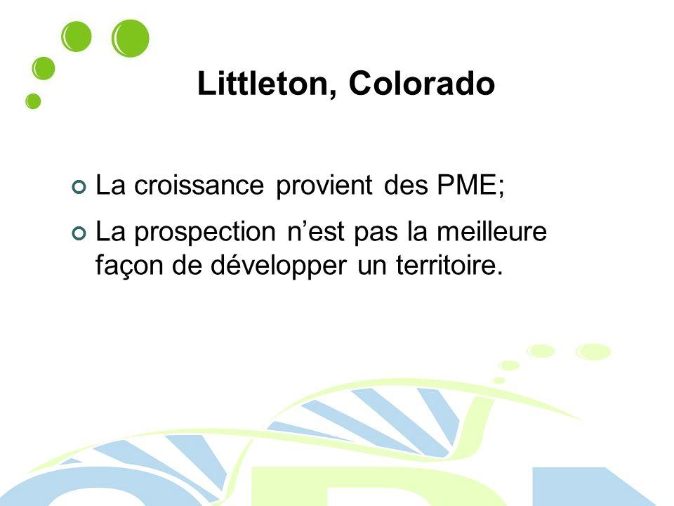 Littleton, Colorado La croissance provient des PME;