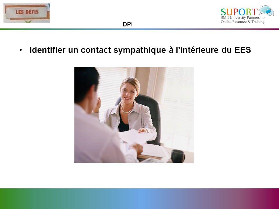 Identifier un contact sympathique à l intérieure du EES
