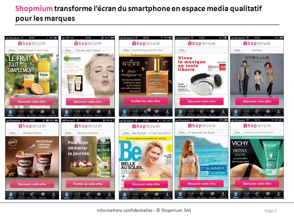 Shopmium transforme l'écran du smartphone en espace media qualitatif pour les marques