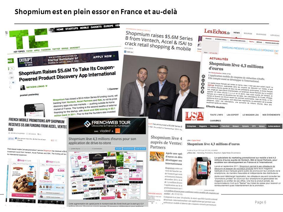 Shopmium est en plein essor en France et au-delà