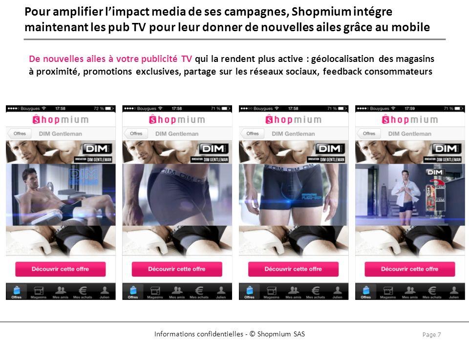Pour amplifier l'impact media de ses campagnes, Shopmium intégre maintenant les pub TV pour leur donner de nouvelles ailes grâce au mobile