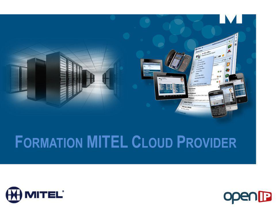 Formation MITEL Cloud Provider