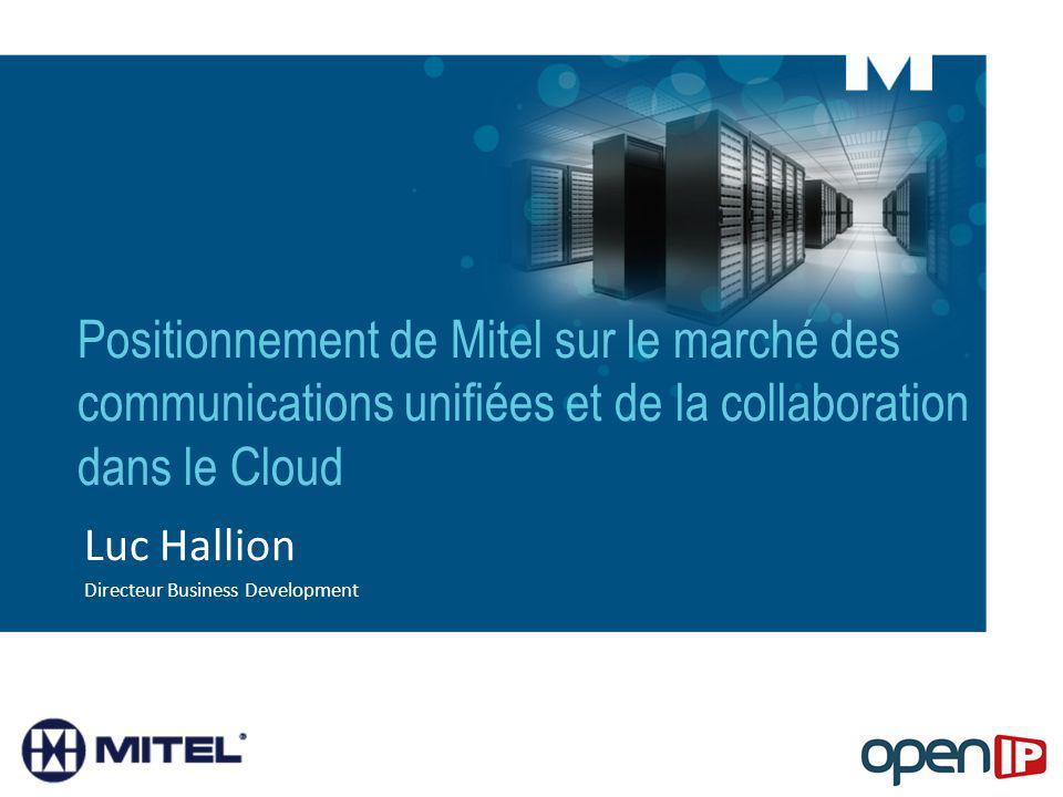 Luc Hallion Directeur Business Development