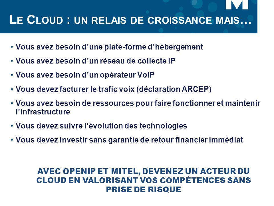 Le Cloud : un relais de croissance mais…