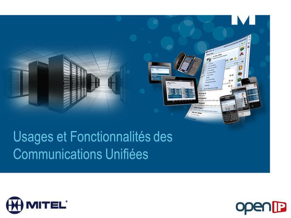 Usages et Fonctionnalités des Communications Unifiées