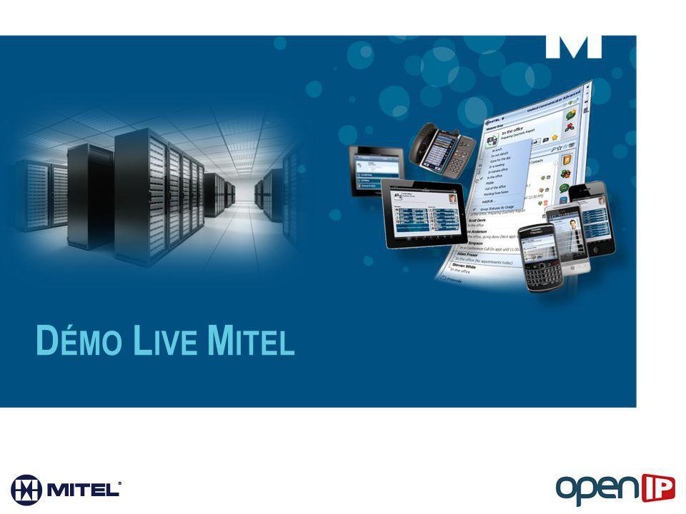 Démo Live Mitel