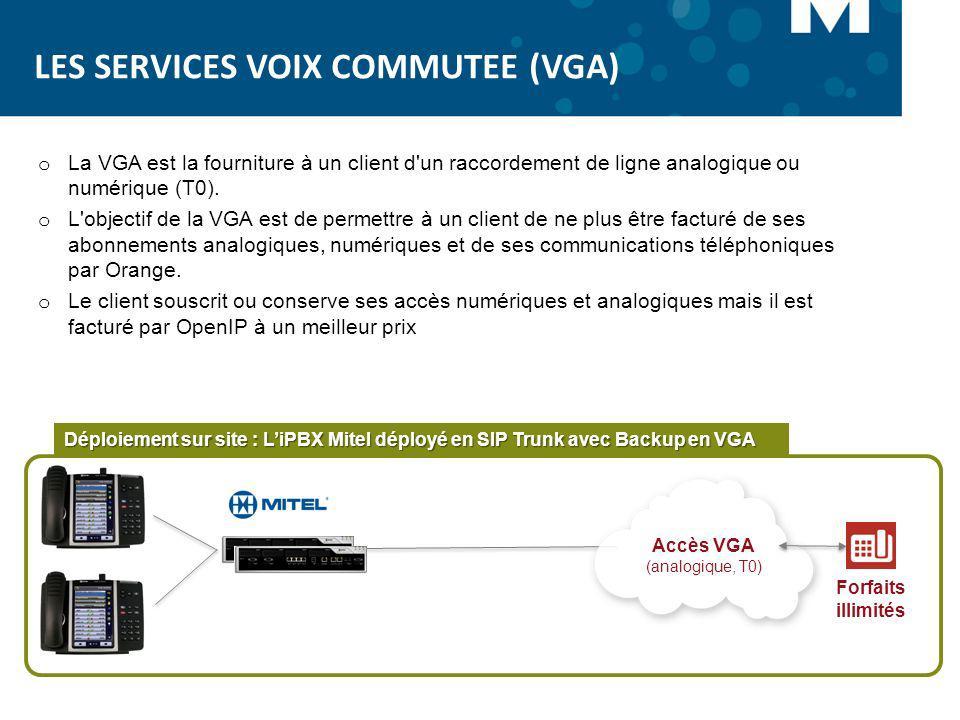 LES SERVICES VOIX COMMUTEE (VGA)
