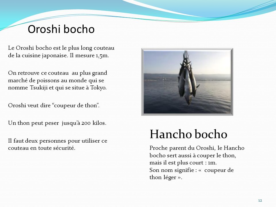 Oroshi bocho Hancho bocho