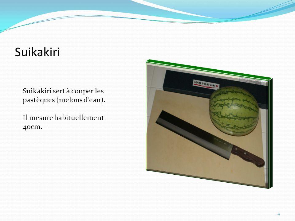 Suikakiri Suikakiri sert à couper les pastèques (melons d'eau).