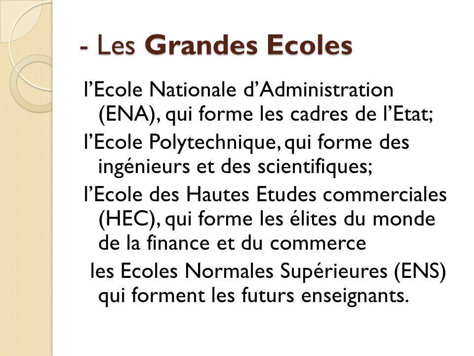 - Les Grandes Ecoles
