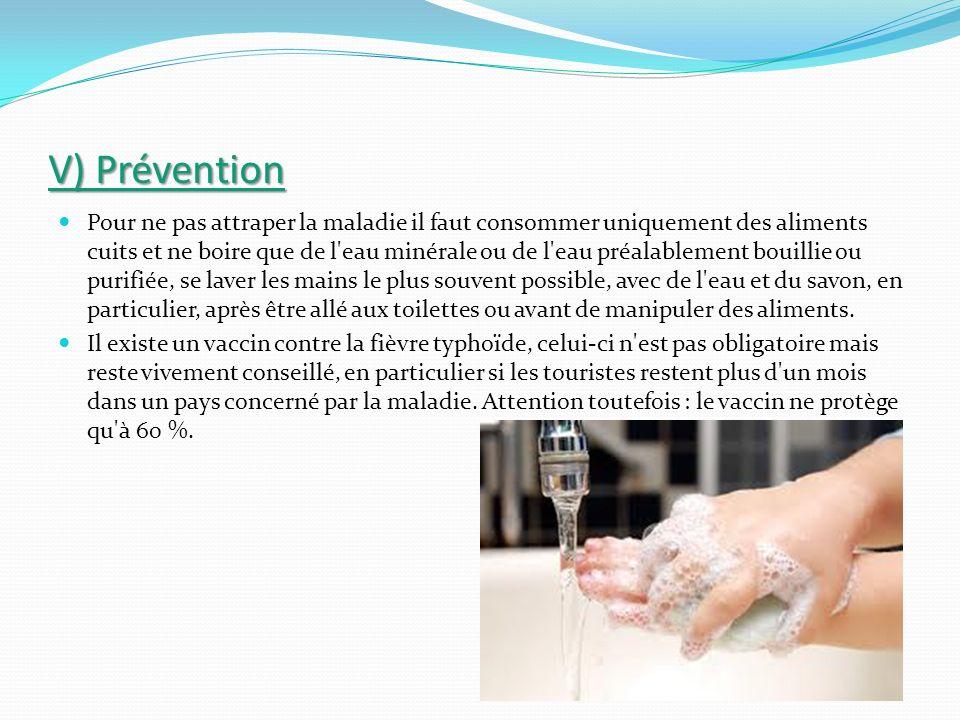V) Prévention