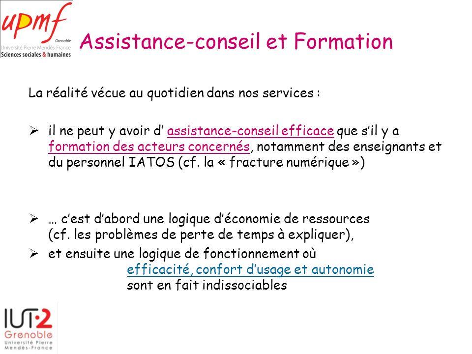 Assistance-conseil et Formation