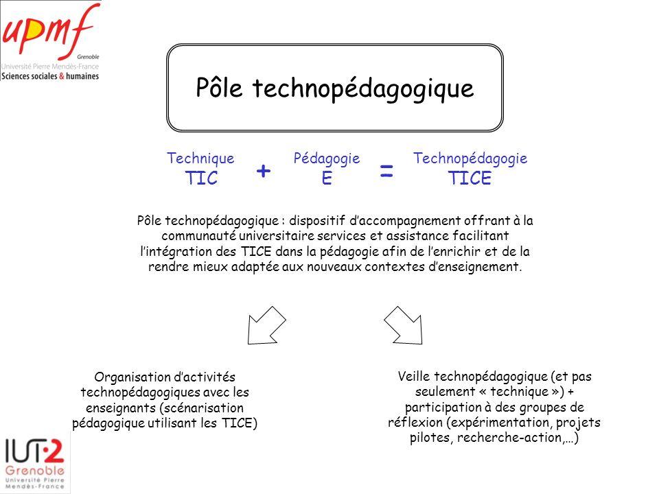 Pôle technopédagogique