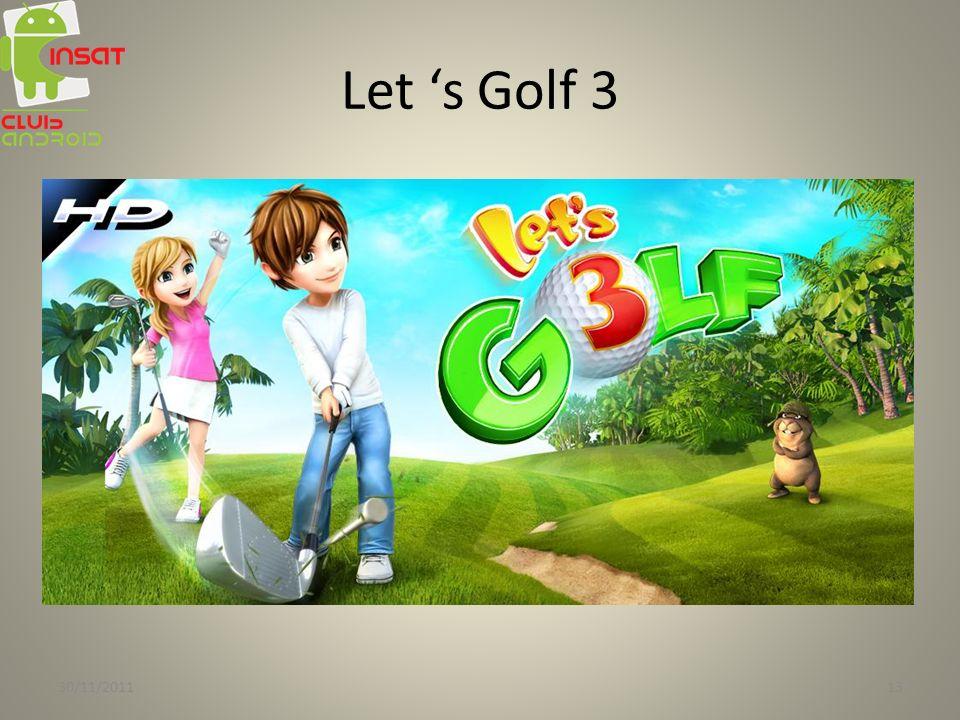 Let 's Golf 3 30/11/2011