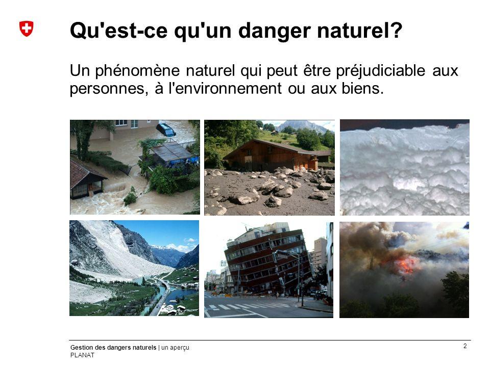 Qu est-ce qu un danger naturel