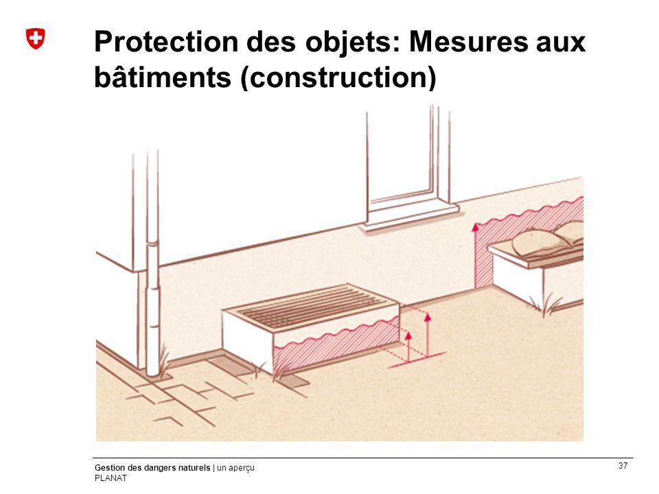 Protection des objets: Mesures aux bâtiments (construction)