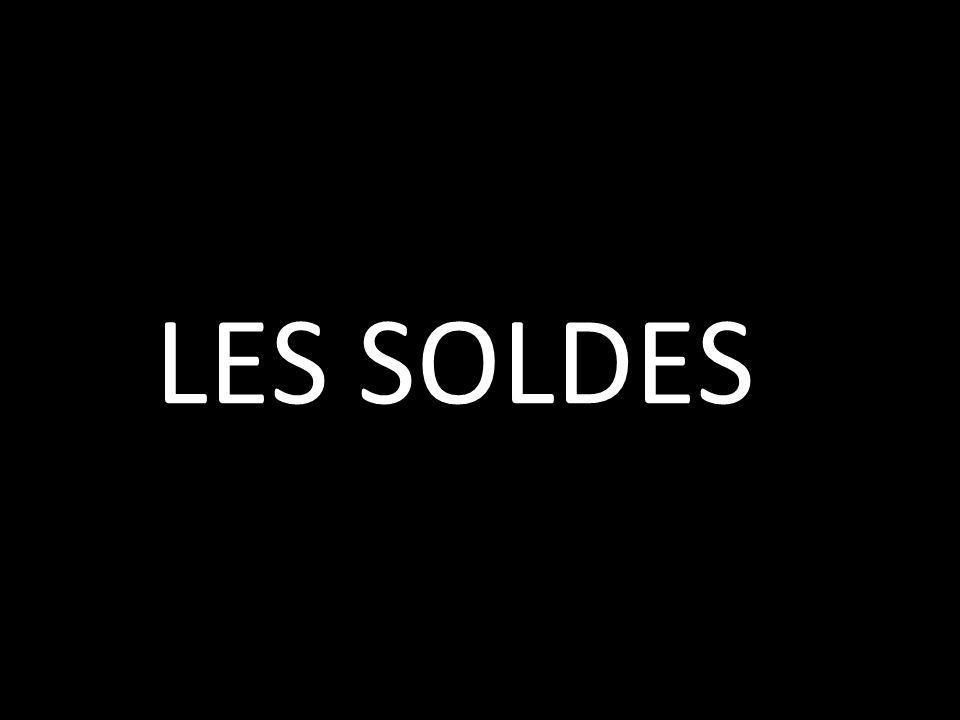 LES SOLDES