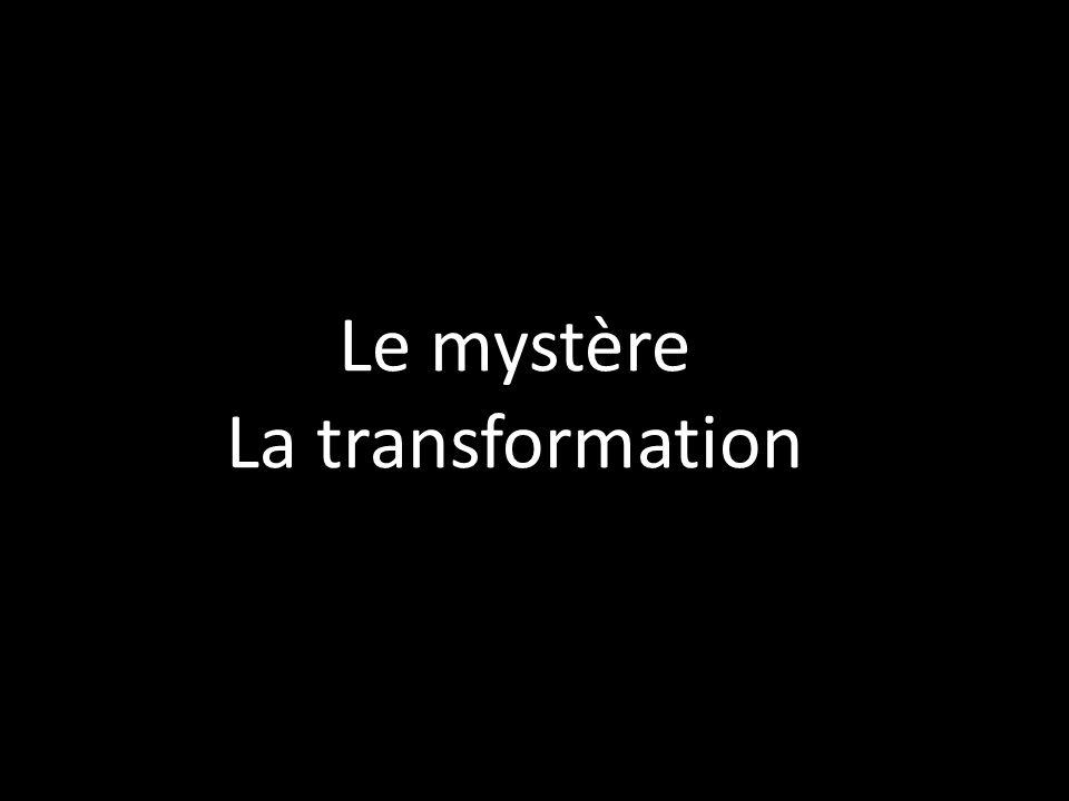 Le mystère La transformation