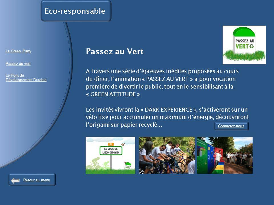 Eco-responsable Passez au Vert