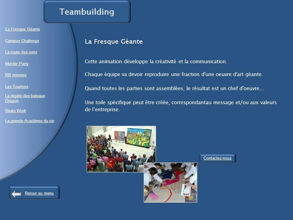 Teambuilding La Fresque Géante