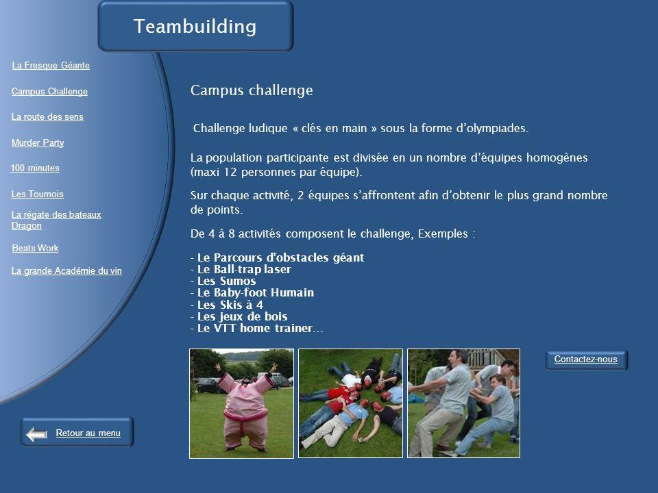 Teambuilding Campus challenge