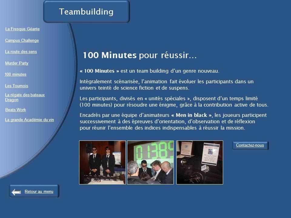 Teambuilding La Fresque Géante.