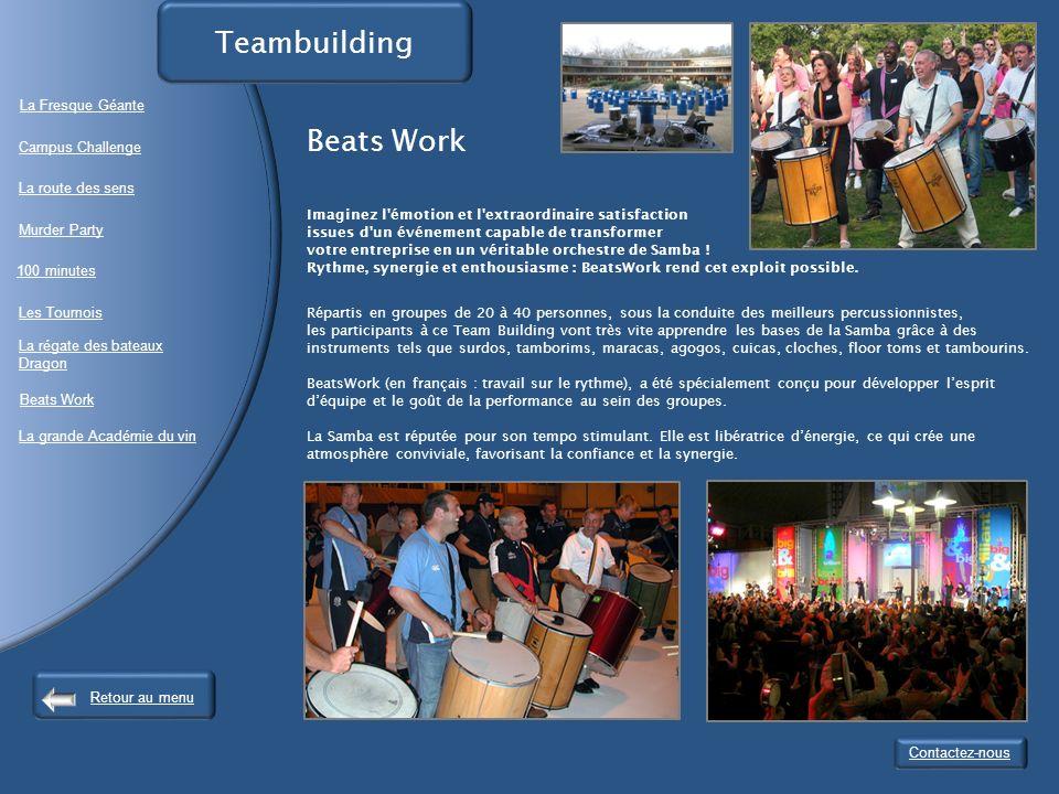Teambuilding Beats Work La Fresque Géante Campus Challenge