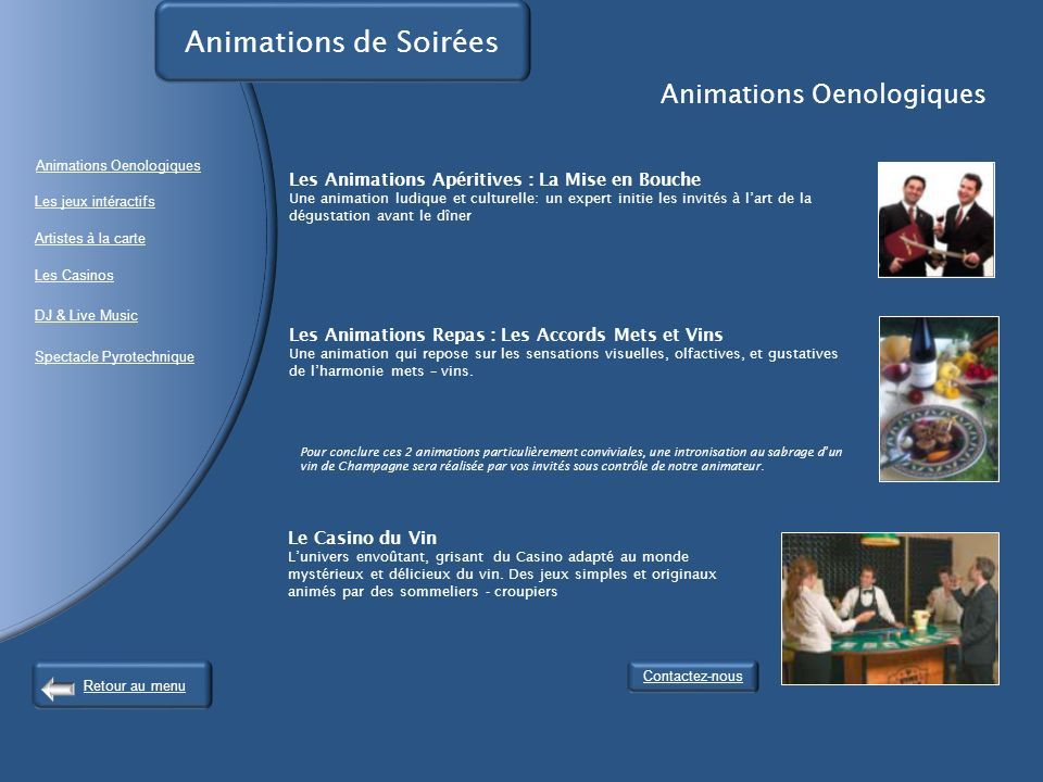 Animations Oenologiques
