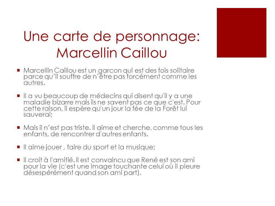 Une carte de personnage: Marcellin Caillou