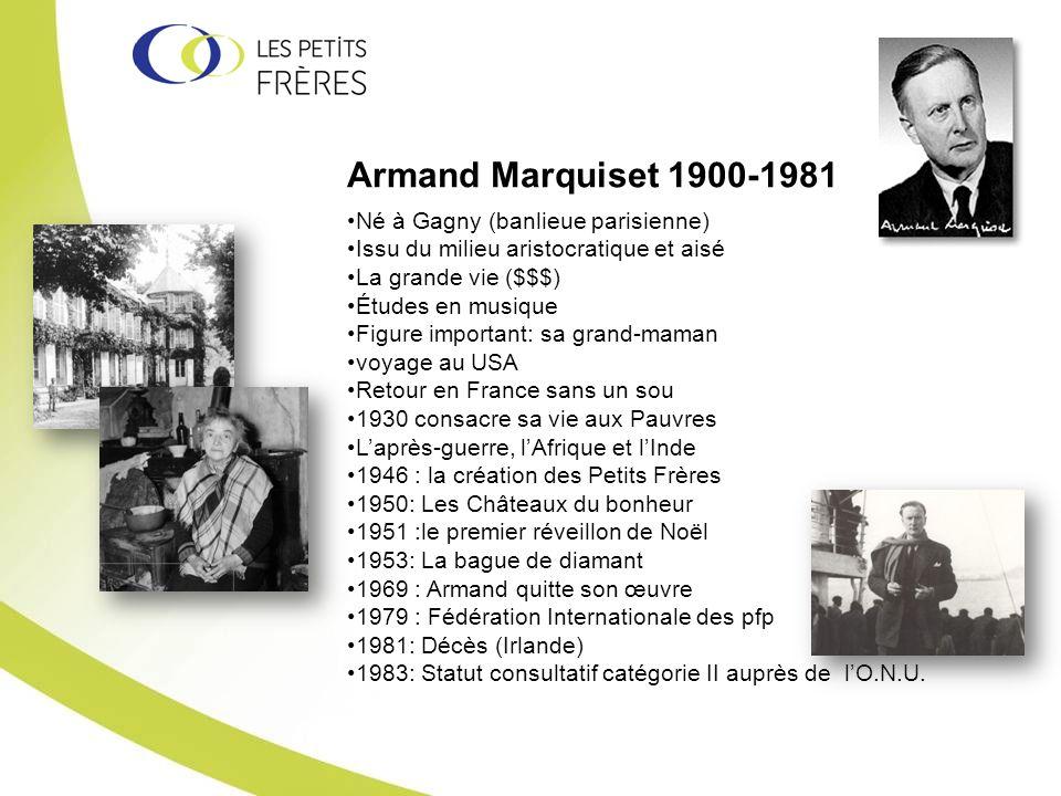 Armand Marquiset 1900-1981 Né à Gagny (banlieue parisienne)