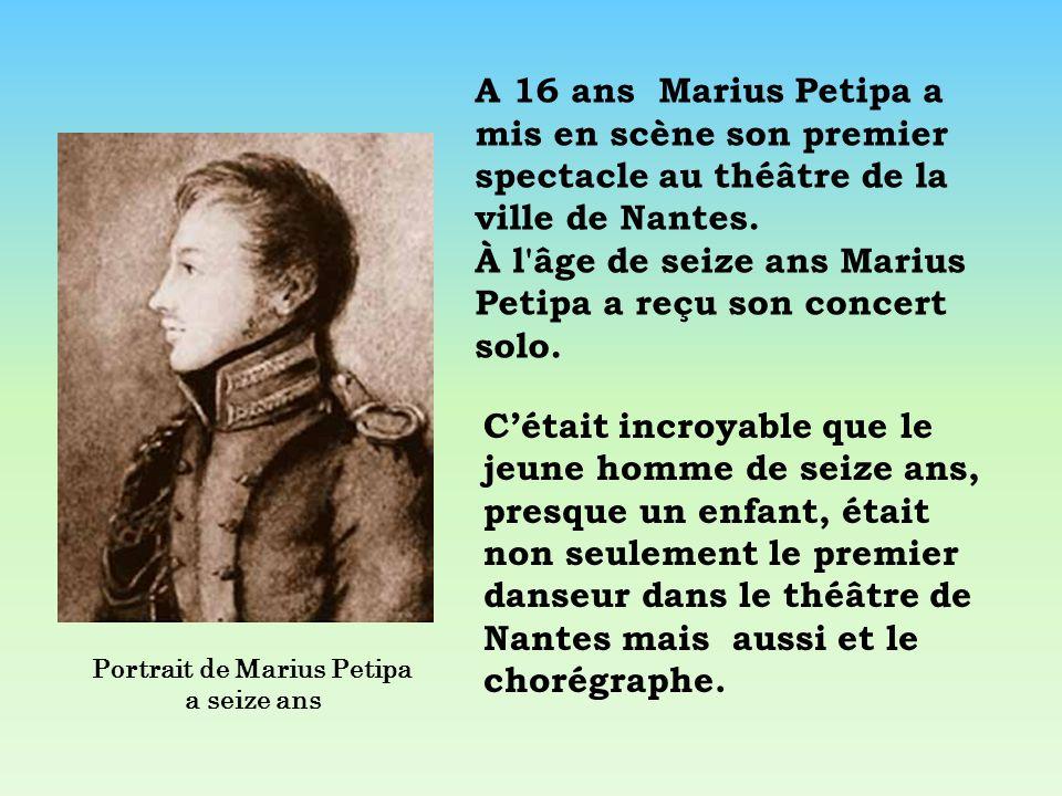Portrait de Marius Petipa