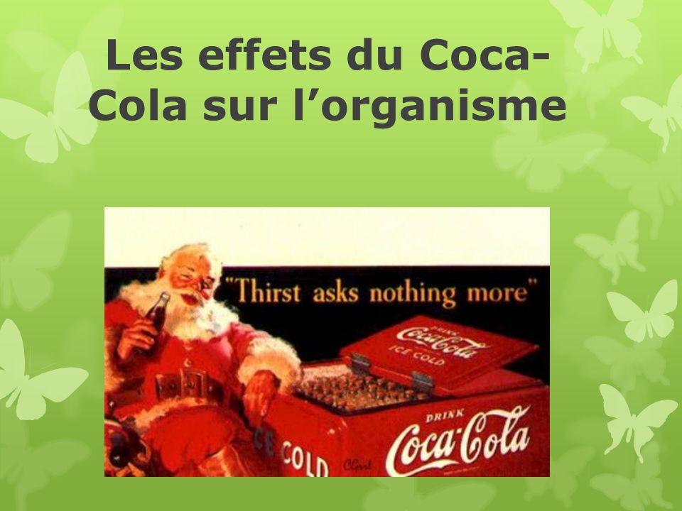 Les effets du Coca-Cola sur l'organisme