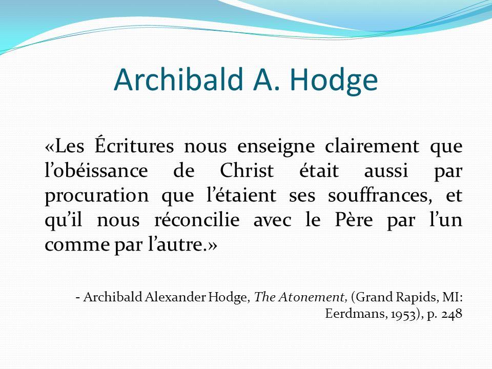 Archibald A. Hodge