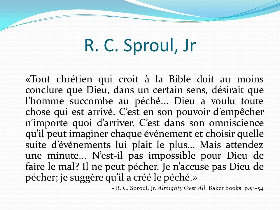 R. C. Sproul, Jr