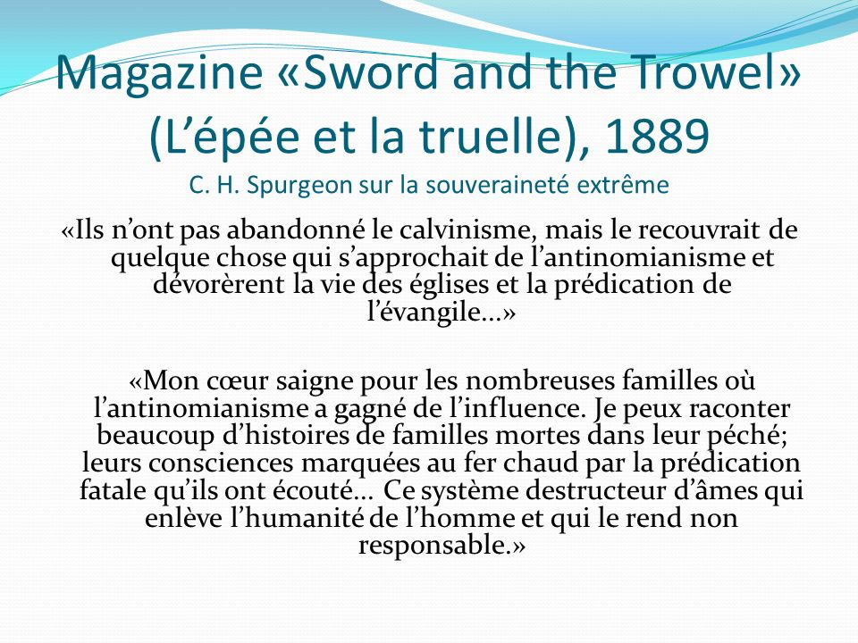 Magazine «Sword and the Trowel» (L'épée et la truelle), 1889 C. H