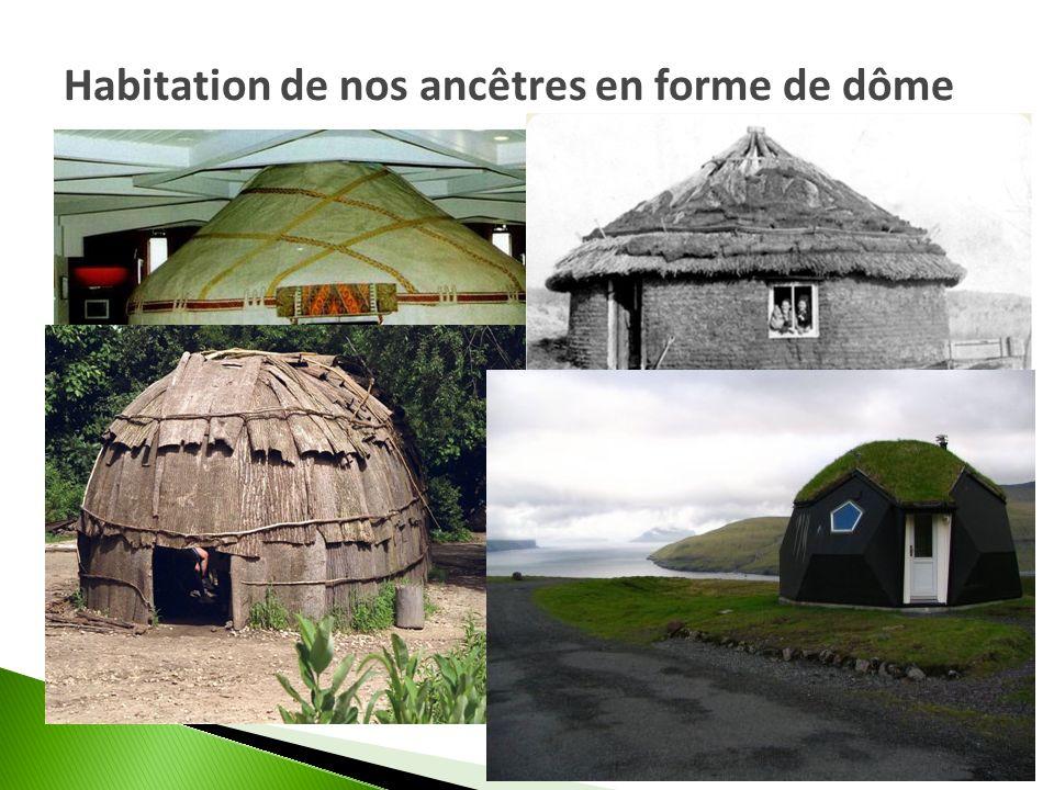 Habitation de nos ancêtres en forme de dôme