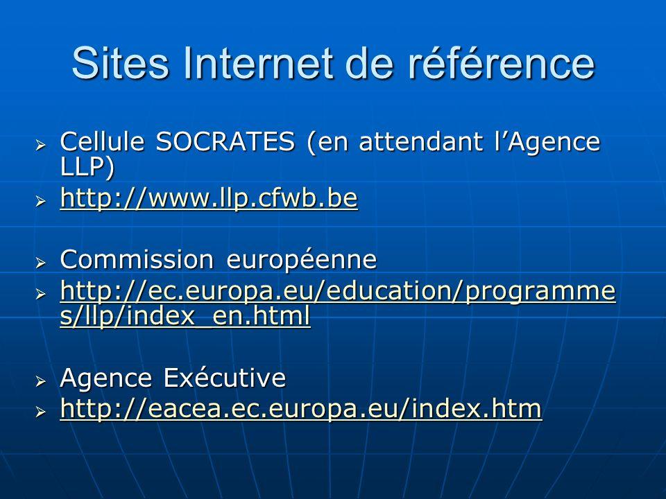 Sites Internet de référence