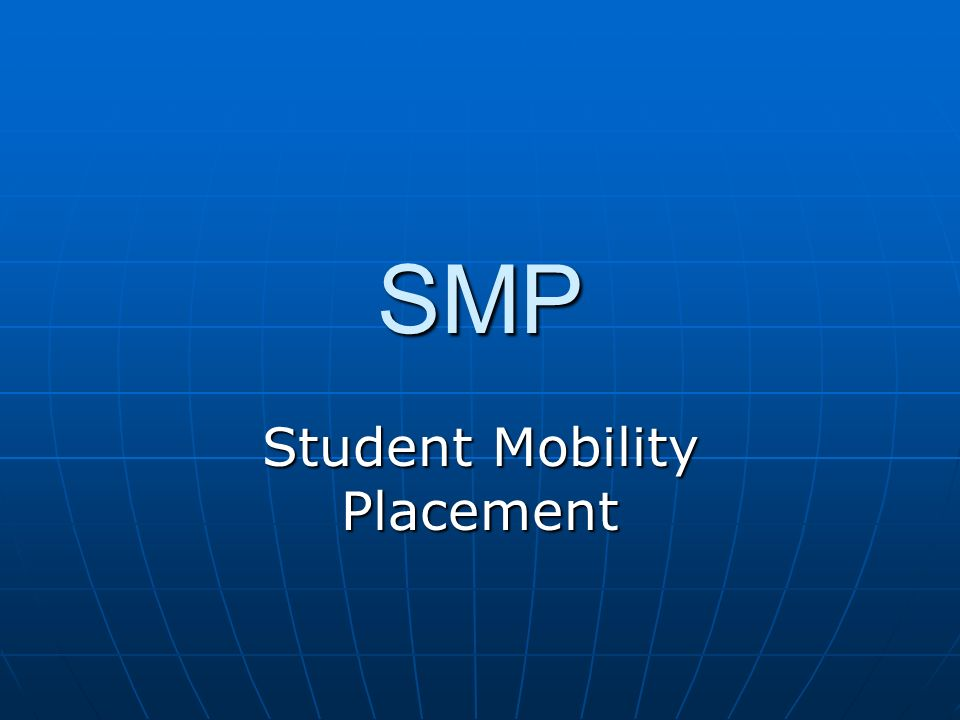 Student Mobility Placement