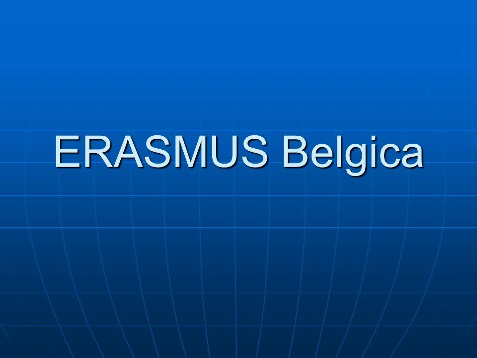 ERASMUS Belgica 91
