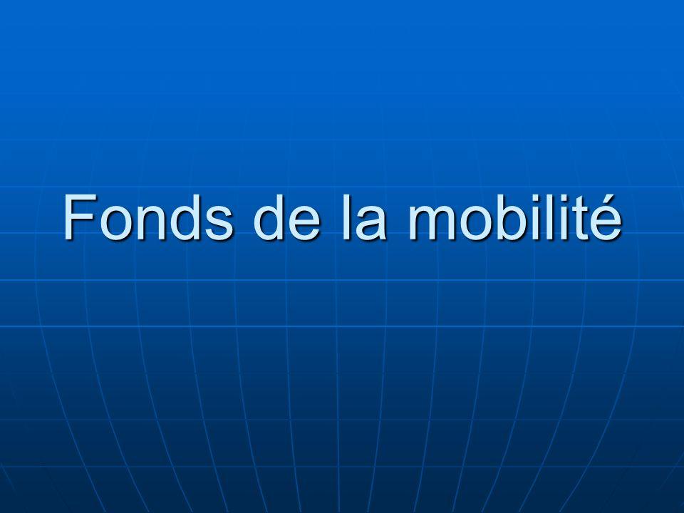 Fonds de la mobilité 97