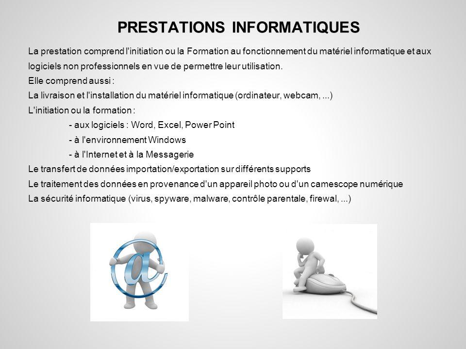 PRESTATIONS INFORMATIQUES