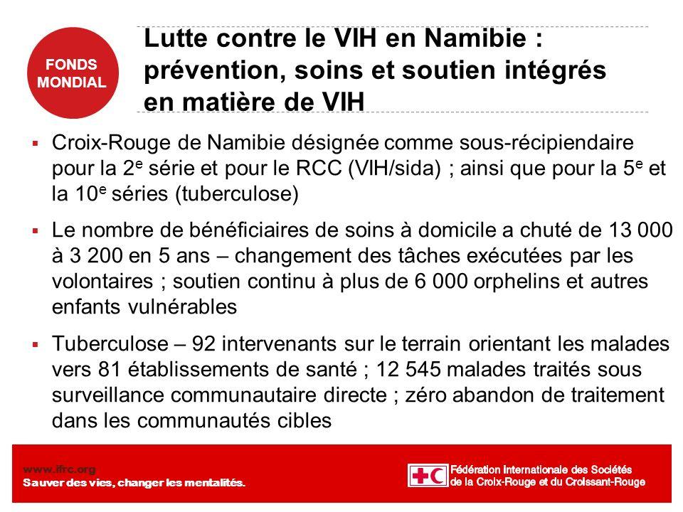 Lutte contre le VIH en Namibie : prévention, soins et soutien intégrés en matière de VIH