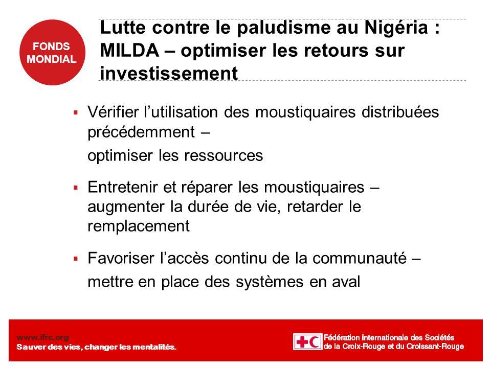 Lutte contre le paludisme au Nigéria : MILDA – optimiser les retours sur investissement