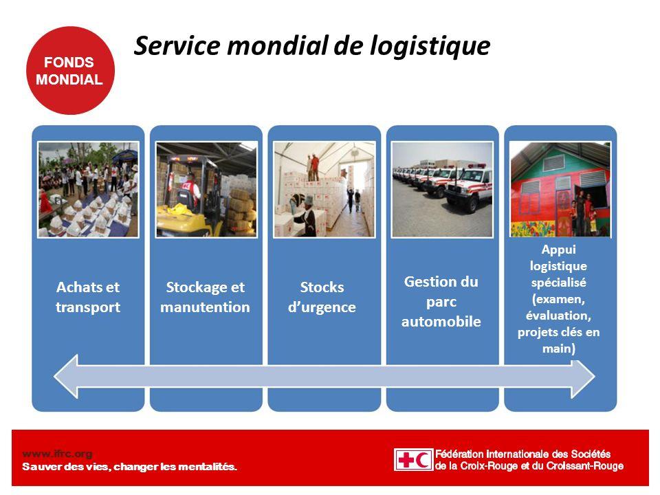 Service mondial de logistique
