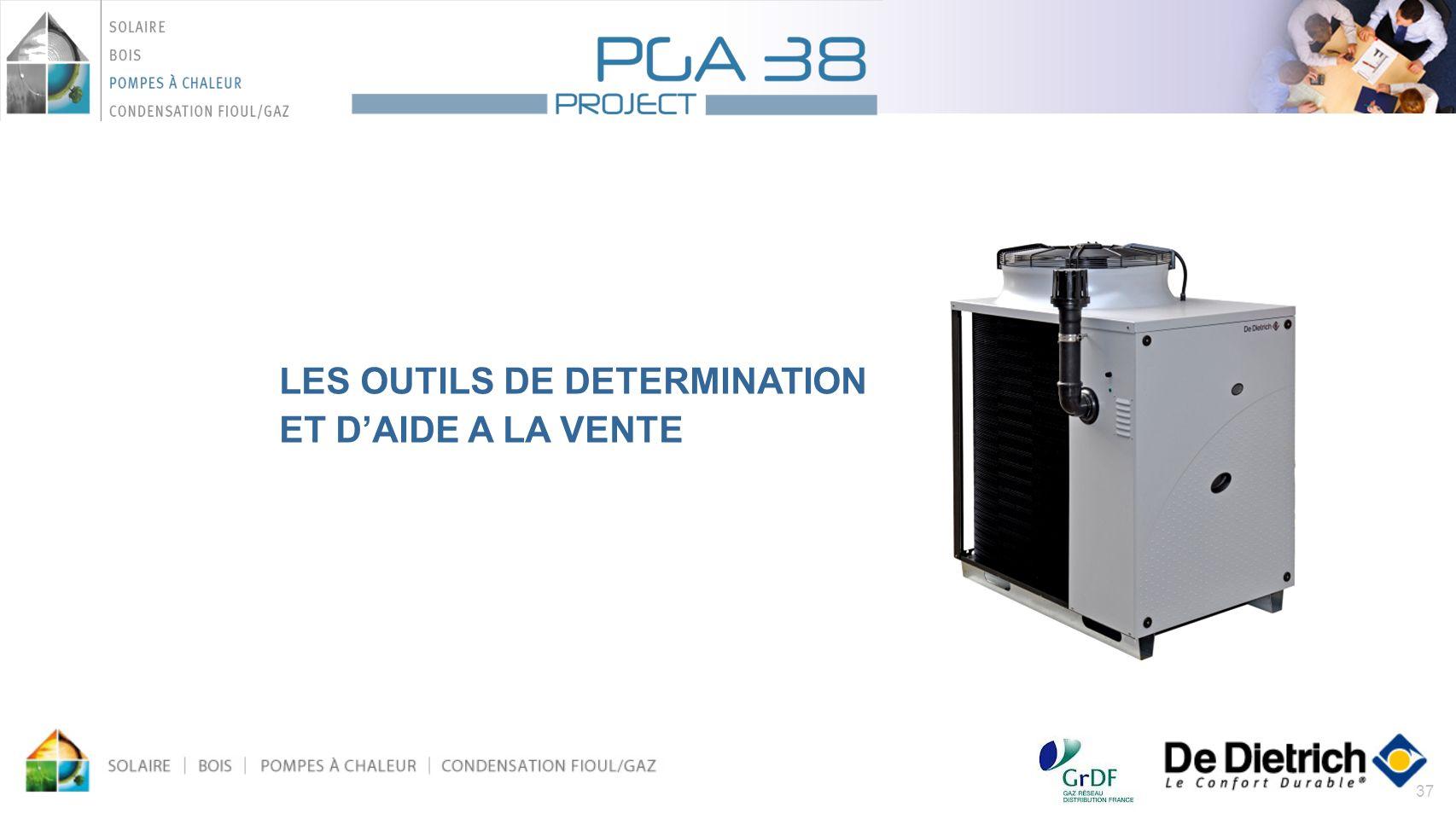 LES OUTILS DE DETERMINATION