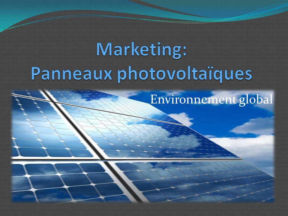 Marketing: Panneaux photovoltaïques
