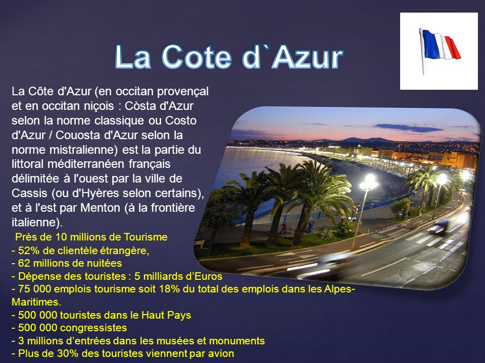 La Cote d`Azur