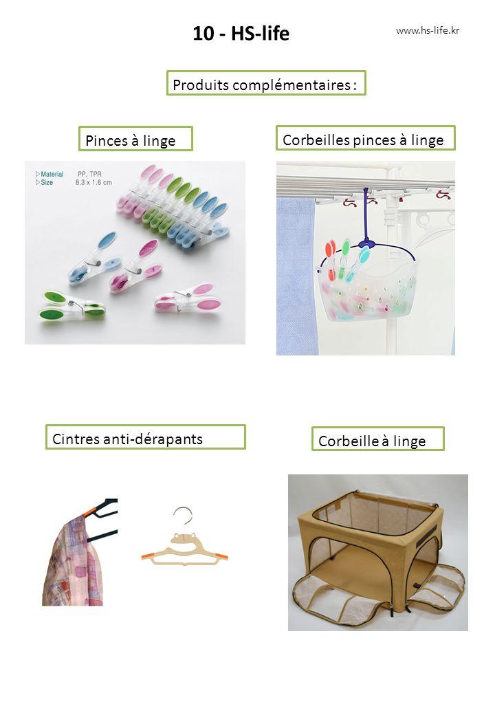10 - HS-life Produits complémentaires : Pinces à linge